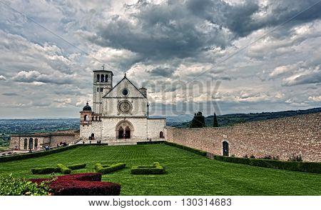 Assisi Dome Italian Basilica Of Saint Francis