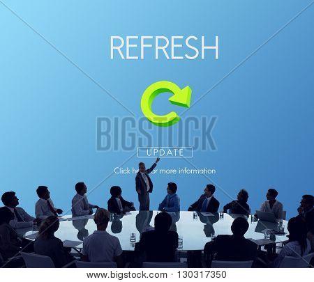 Refresh Restart Renew Vision Concept