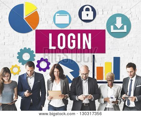 Login Username Protection Password Concept