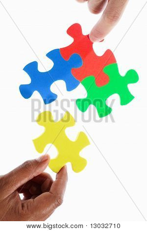 Solving Colorful Puzzle