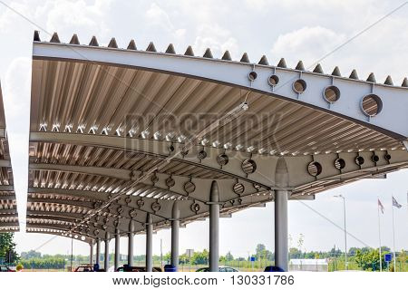 Perforated Aluminum Roof