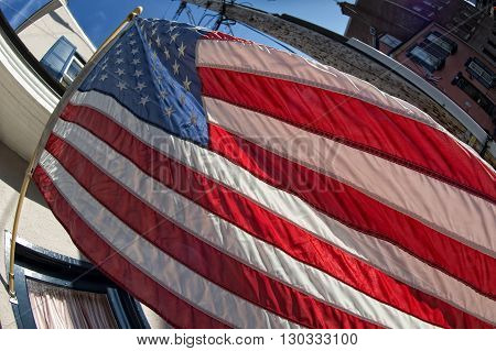 Usa American Flag Stars And Stripes Detail
