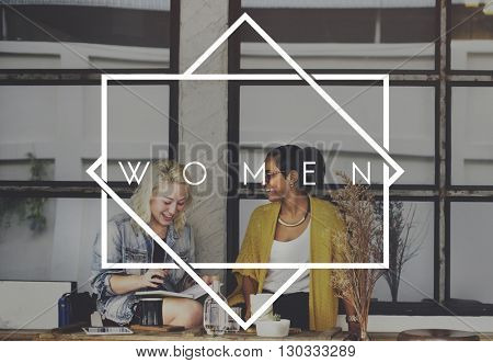 Women Female Girl Lady Mother Madam Wife Concept