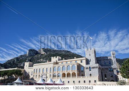 Montecarlo Monaco Panorama Palace View