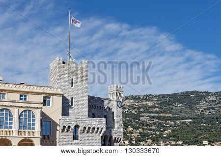 monte carlo monaco panorama palace view landscape panorama