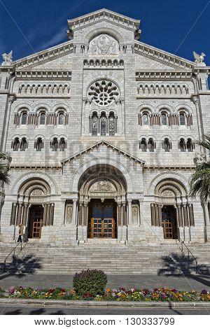 montecarlo church dome monaco basilica close up