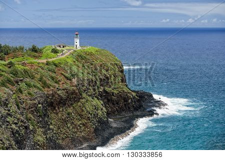Kauai Lighthouse Kilauea Point Hawaii Island