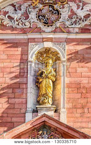 Mother Of God Parish Church In Aschaffenburg