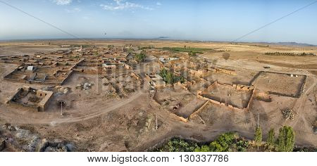 Maroc Aerial View From Baloon