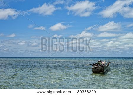 Turquoise Tropical Polynesian Paradise Beach Ocean Sea Crystal Water Clear