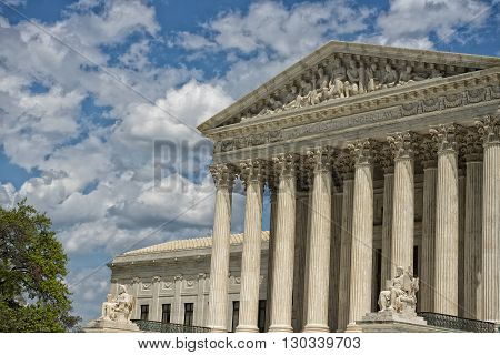 Washington Dc Supreme Court Facade