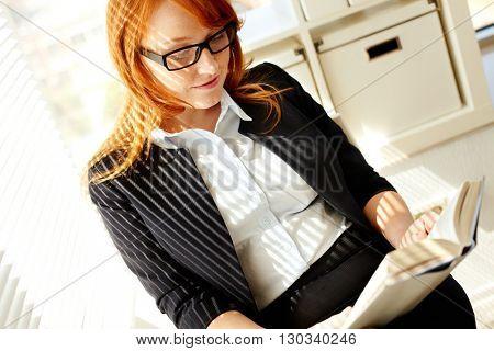 Reding in office