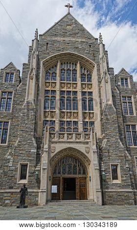 Georgetown University In Washington Dc