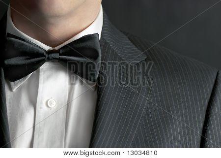 Hombre en Tux