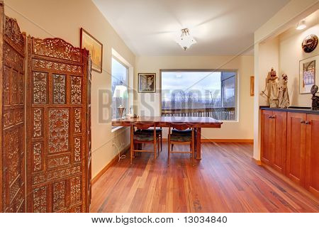 Nice Room With Dining Room Table