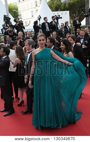 Ana Beatriz Barros attends 'The Unknown Girl (La Fille Inconnue)' Premiere duirng the annual 69th Cannes Film Festival at Palais des Festivals on May 18, 2016 in Cannes, France.
