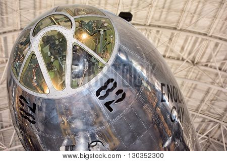 Washington Dc, Usa - June 21 2015: Boeing B-29 Superfortress Enola Gay At Air Museum