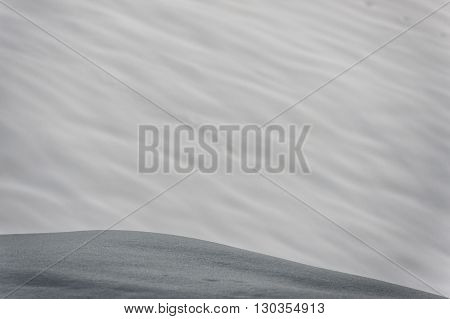 big avalanche in alps mountains view landscape
