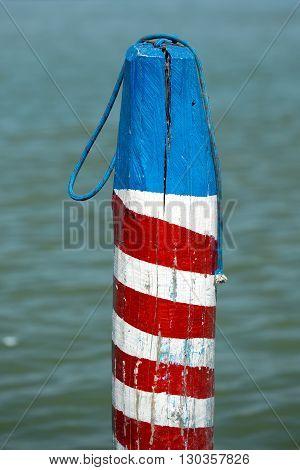 Venice Laguna Mooring Pole