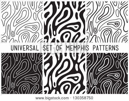 Universal Vector Lineal Geometric Seamless Pattern