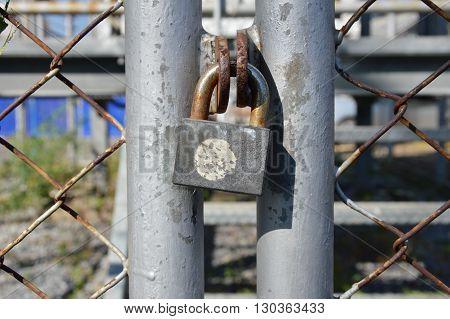 master key lock the iron net door