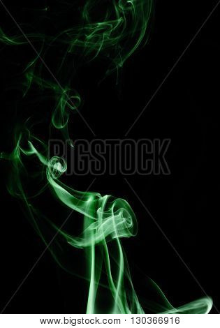 Capturing the smoke from an incense stick and changing the colours
