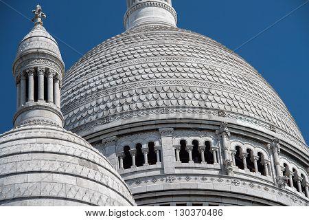 Montmartre Paris Dome Cathedral Detail