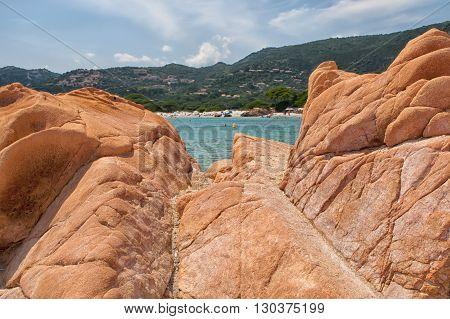 Corsica Wonderful Coastline Landscape