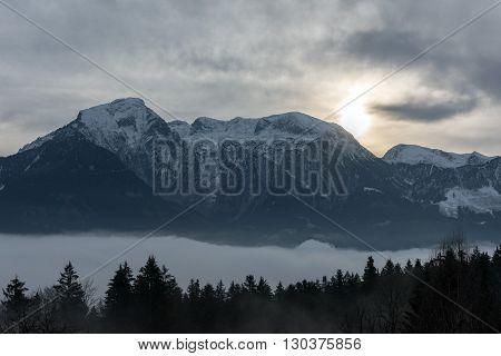 Berchtesgaden Land In Winter Time