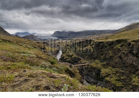 Iceland Wild Landscape