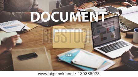 Files Index Content Details Document Archives Concept
