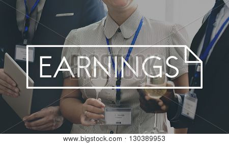 Earnings Gain Investment Money Profit Concept