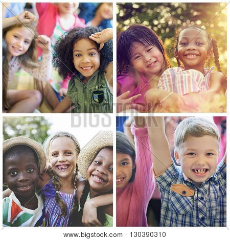 Adolescence Childhood Diversity Ethnicity Friends Concept