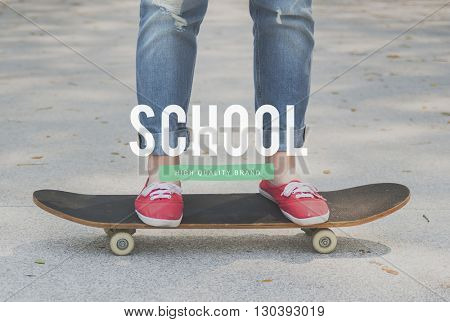Back To School Youth Culture Concept