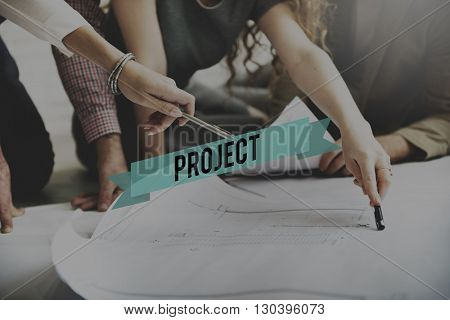 Project Enterprise Plan Strategy Task Estimate Concept