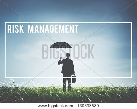 Risk Management Forecast Opportunity SWOT Concept