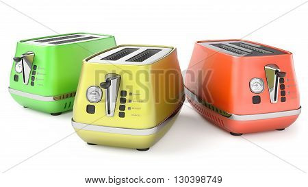 Toasters 3D