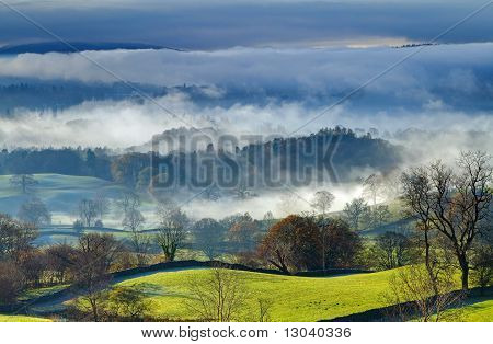 Windermere in the Morning Mist