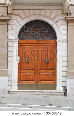 Door In Massa, Tuscany
