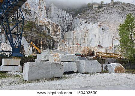 Marble Quarry, Carrara