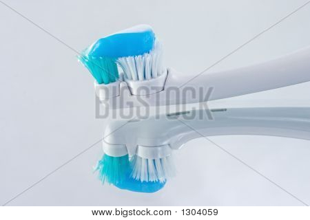 Electric Toothbrush Reflections