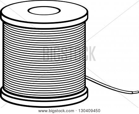 insulated wire spool