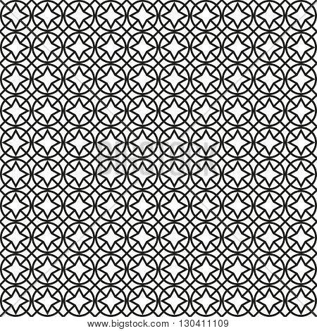 Seamless pattern in islamic style. Ramadan background. Vector background