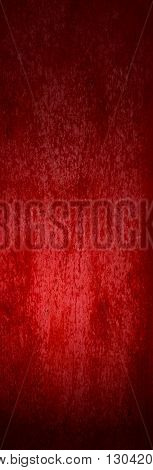 Upright red grunge background with dirk and scratches