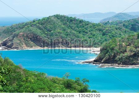 Bay With Blue Sea Water