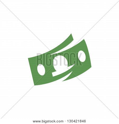 Money Icon. Money logo. Vector design element. Abstract emblem, graphic design concept. Logotype element for template. Vector illustration on white background - stock vector