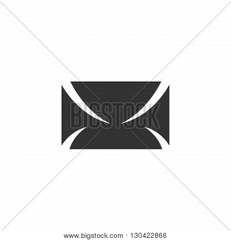 Envelope Icon. Envelope logo. Vector design element. Abstract emblem, graphic design concept. Logotype element for template. Vector illustration on white background - stock vector