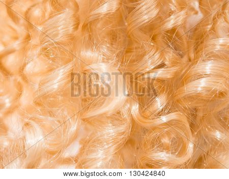 style, textured long blond hair as background