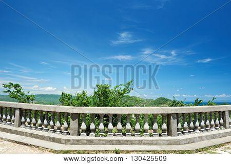 Concrete Balcony Rail