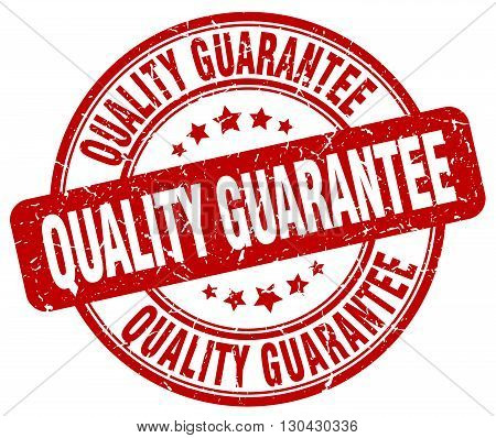 quality guarantee red grunge round vintage rubber stamp